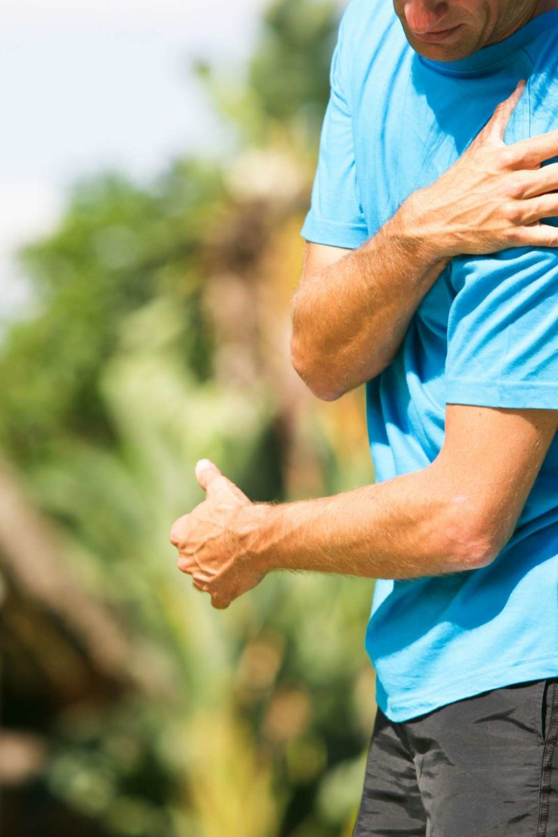 dolor en brazo derecho tendinitis