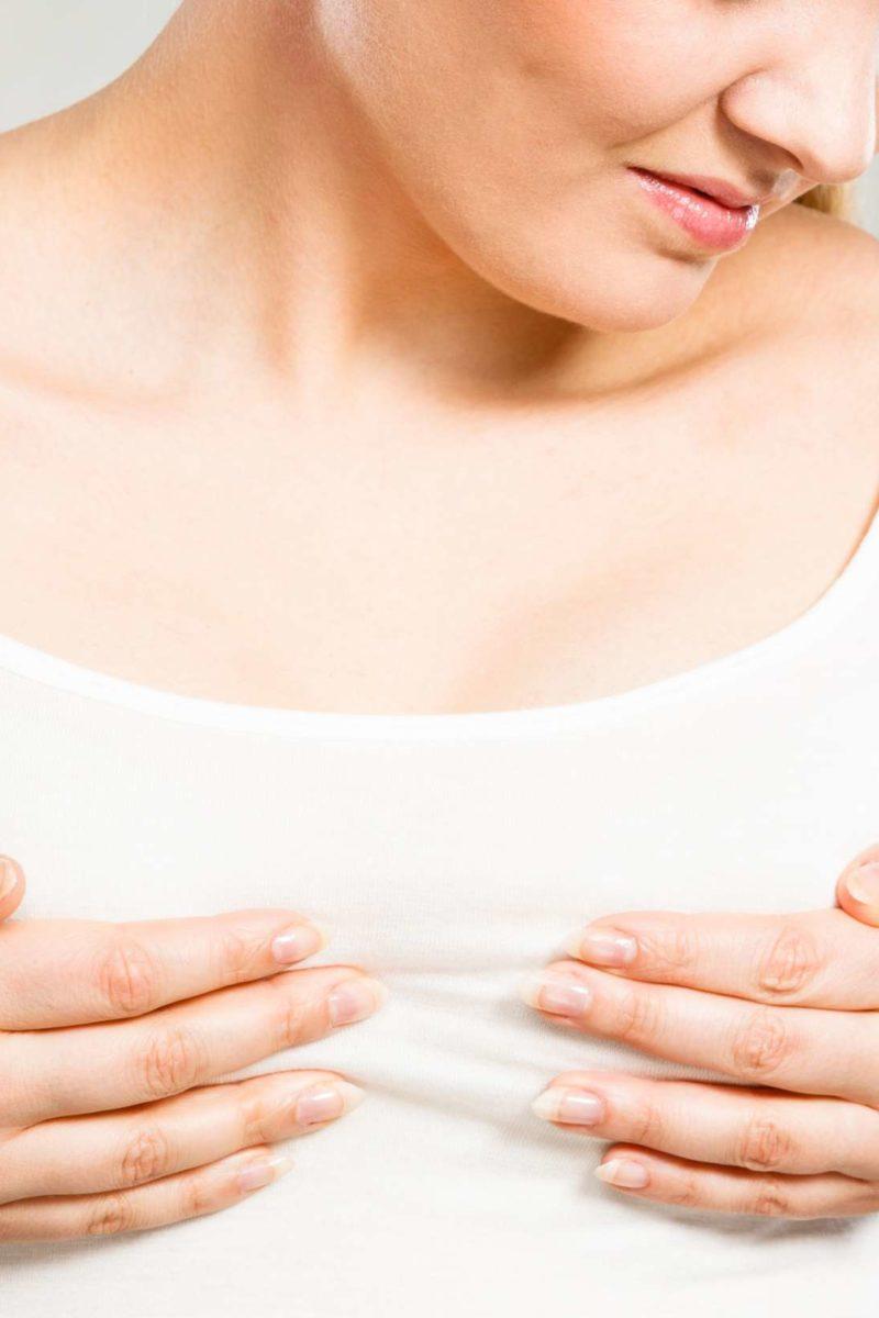dolor de pecho embarazo o regla