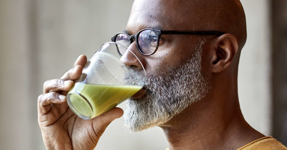 oral intake with a liquid diet