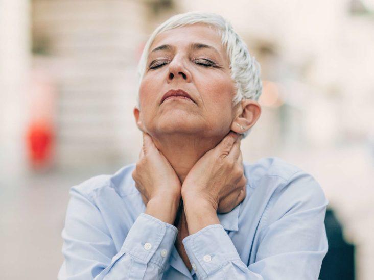 average size of operative menopause