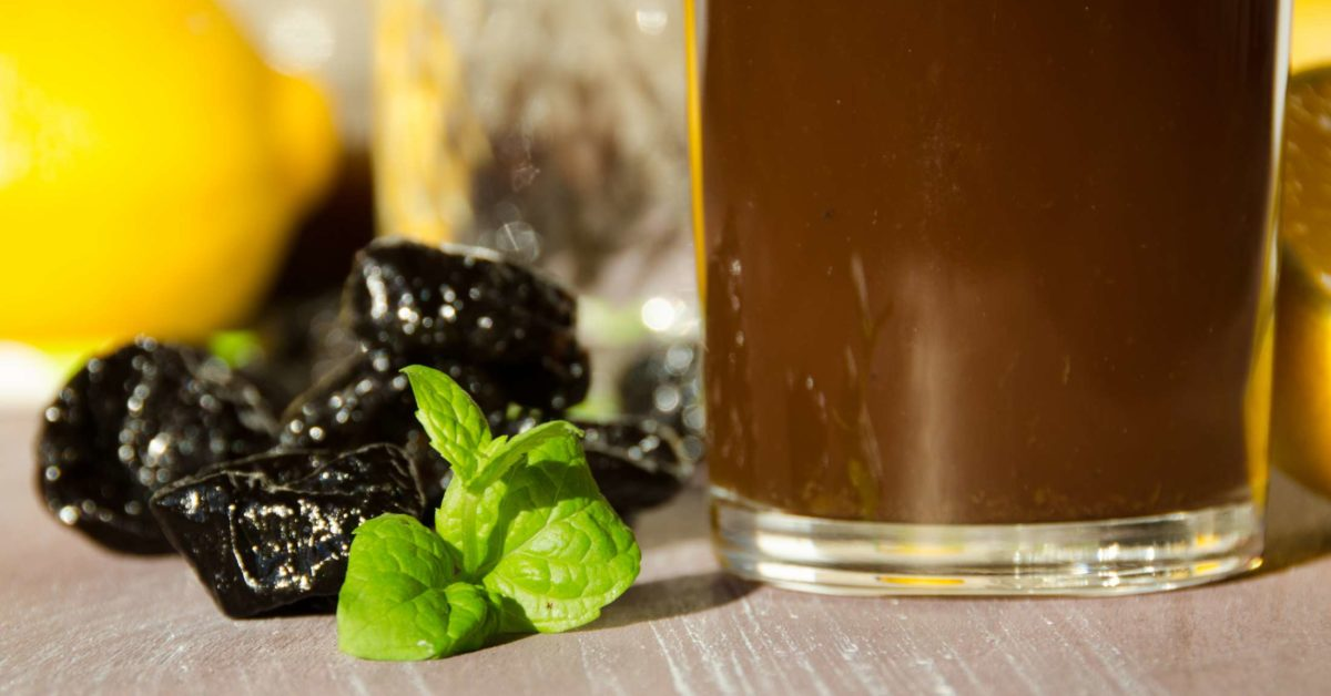 how often to drink prune juice for constipation
