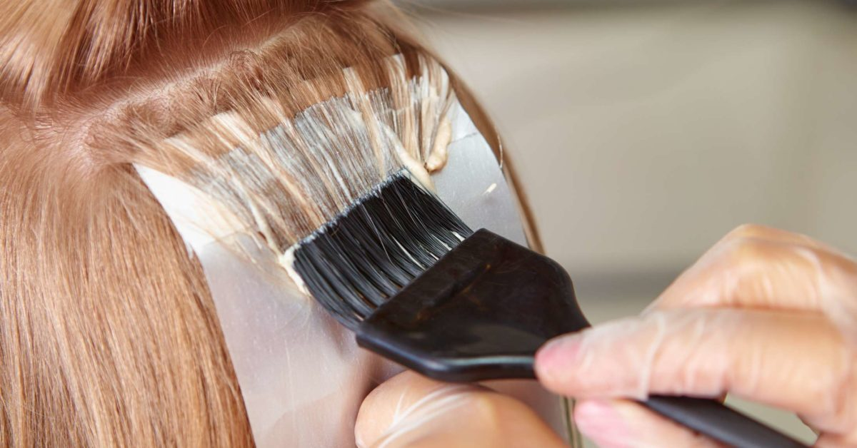 Does hydrogen peroxide cause hair loss?