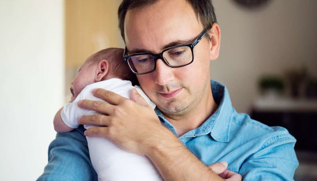 Babies who resemble dad are healthier at 1st birthday