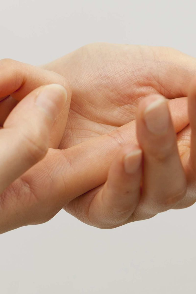 It being fingered does why after hurt discomfort/pain while