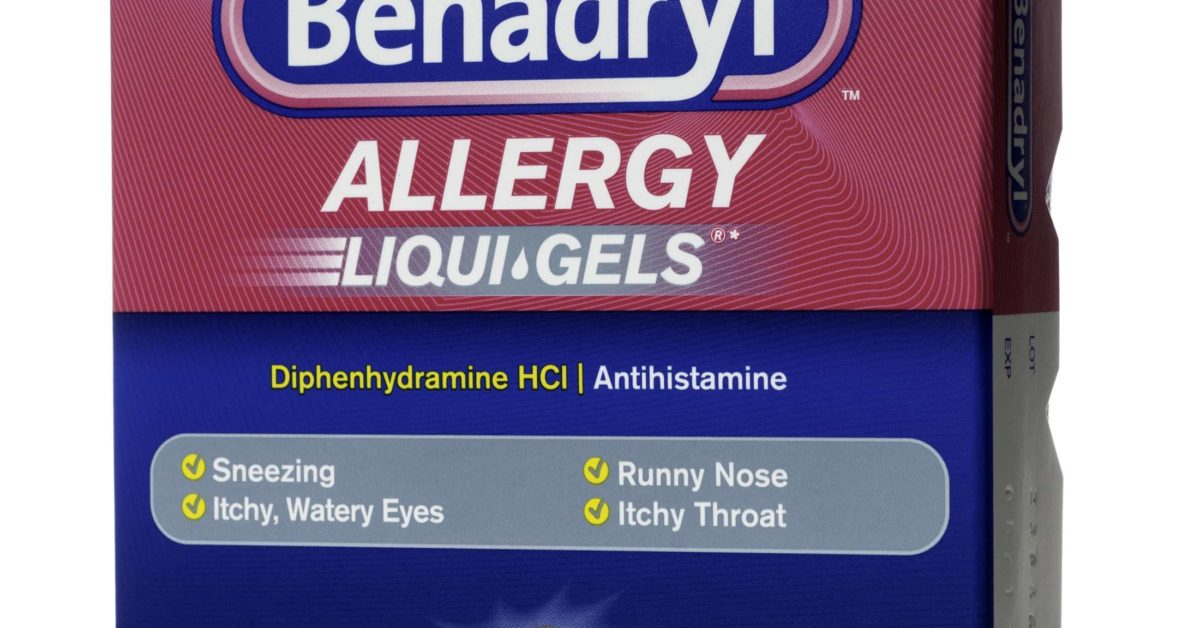 can you use benadryl for allergies
