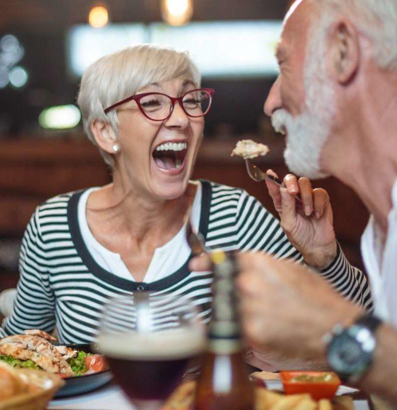 diet for one elderly woman