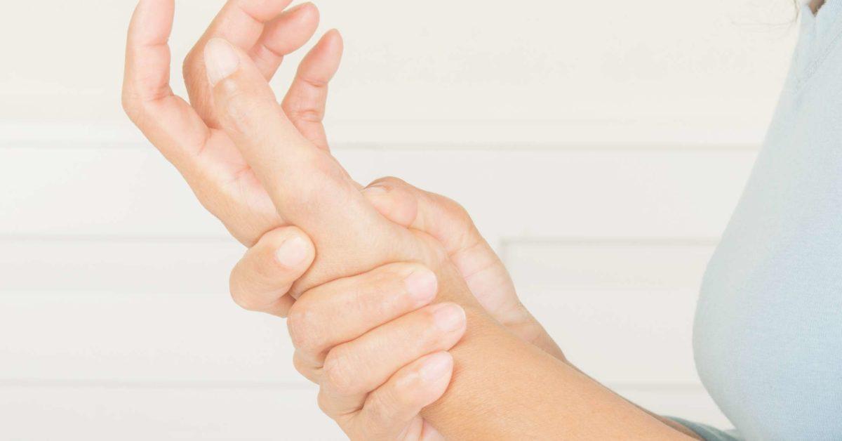 wrist pain on high fat diet