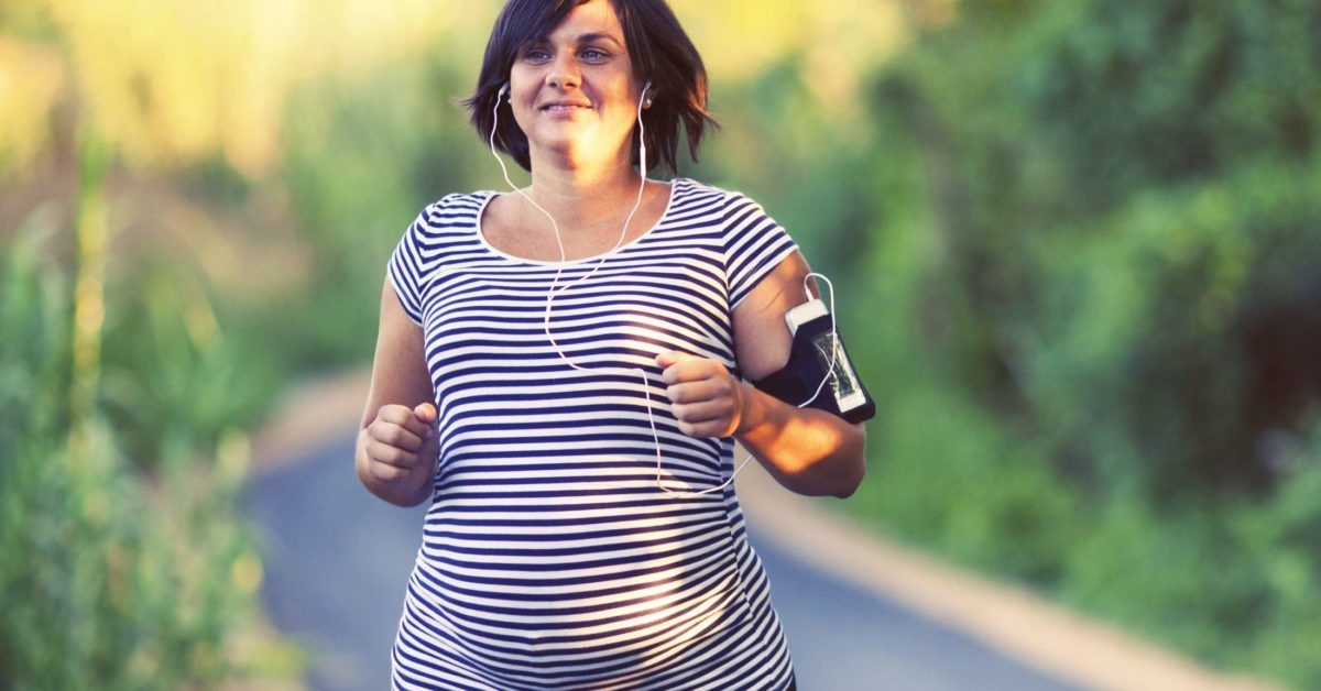 lose some weight while pregnant