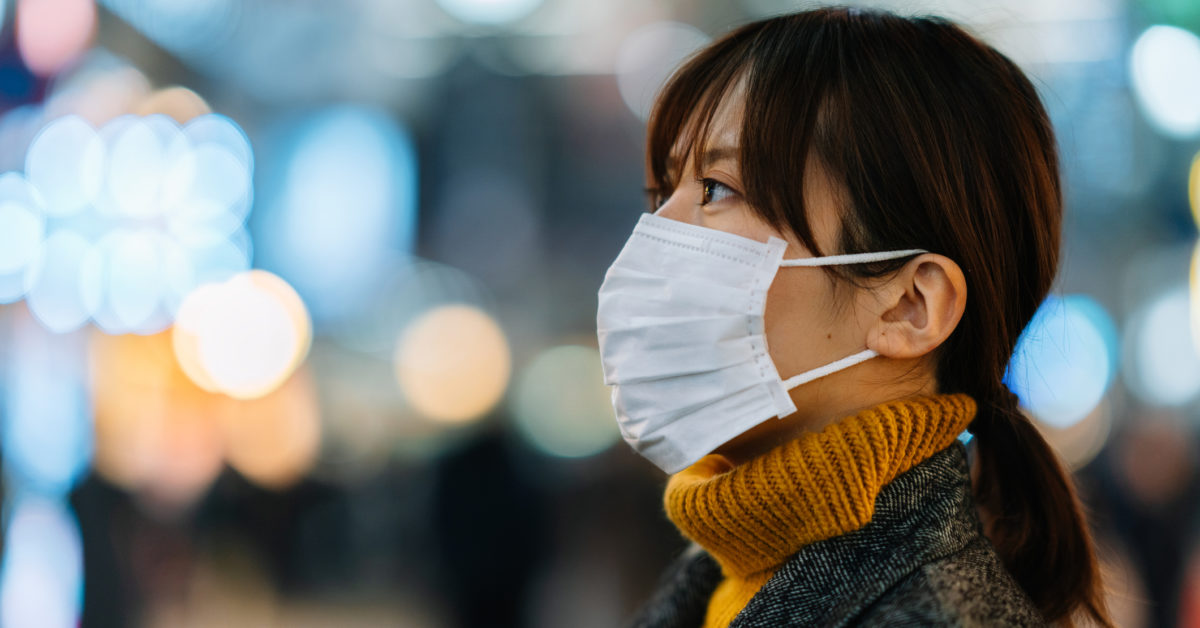 Surgical masks may help, but not as first line of defense