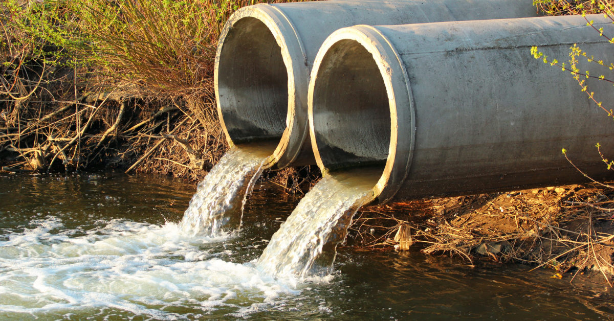 Sewage could provide early warning of COVID-19 outbreaks