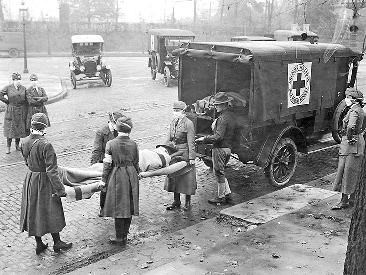 What the COVID-19 pandemic and the 1918 flu pandemic have in common