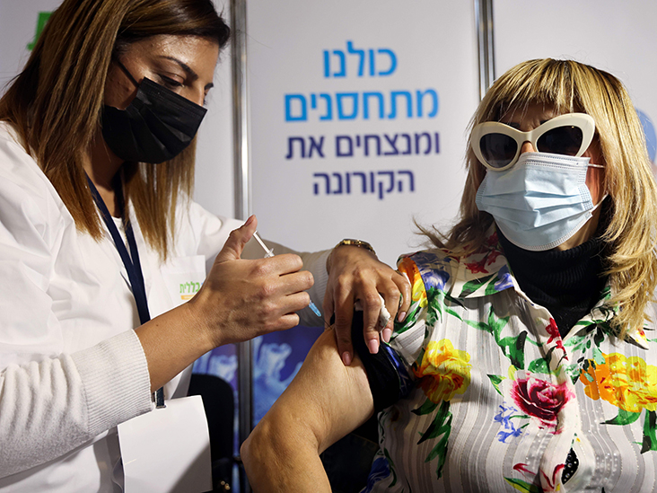 Why have the COVID-19 vaccinations in Israel made the headlines?